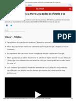 Depoimento de Lula a Moro_ Veja Todos Os VÍDEOS e Os Principais Pontos _ PR _ Paraná _ G1