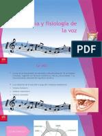 Prsentacion de Anatomía y Fisiología de La Voz (1) (1)