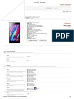 Lenovo P70 - Specifications