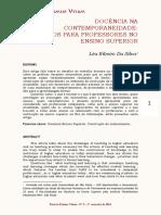 Docência Na Contemporaneidade- Desafios Para Professores No Ensino Superior