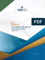 Peru Principal Indicators Departamentales 2009-2016