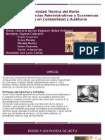 Historia e Los SegurosEdad Antigua 1