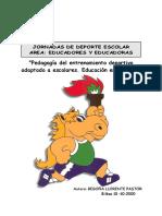 5. Pedagogía del entrenamiento deportivo adaptado a escolares. Educación en valores.pdf