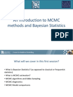An Introduction to MCMC Methods and Bayesian Statistics