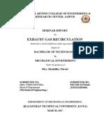 EGR Report