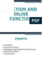 Inline Function Ppt
