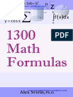 shortcut Maths Formulas