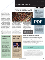 Business Events News for Thu 11 May 2017 - Battle of the ICCA rankings, HGGC acquires etouches, David Grant fellowship, Yas Viceroy, No event bid fund, and much more