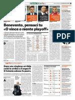 La Gazzetta dello Sport 11-05-2017 - Calcio Lega Pro