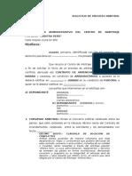 Solicitud de Proceso Arbitral 03