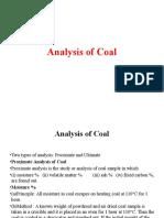 Coal Anylysis