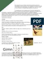 La Gimnasia Rítmica Es Una Disciplina Deportiva Que Combina Elementos de Ballet