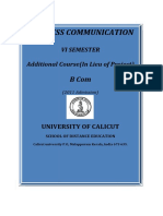 B Com -VI Sem.- Additional course - Business Communication.pdf