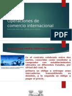 Operaciones de Comercio Internacional