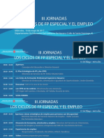 III Jornadas Los Ciclos de FP Especial y El Empleo