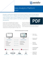 Pentaho Business Analytics Platform