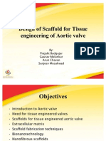 Design of Scaffold for Tissue engineering of Aortic valve