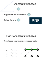 Transformateurs Triphasés Indice Horaire