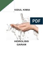 Modul Kim Kls Xi Ipa 3 Hidrolisis Garam