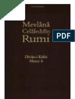 Divan-I Kebir, Meter 4 by Jalaluddin Rumi