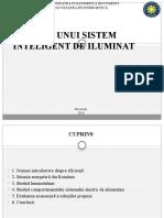 Analiza Unui Sistem Inteligent de Iluminat