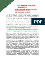 t.9 Prevencion Riesgos Laborales