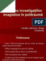 Utilitatea investigaţiilor imagistice