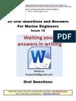 Part12 Q a Marine Engineer