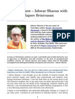 The Ishwar Sharan Interview - Rajeev Srinivasan