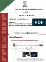 Materiais Semicondutores f