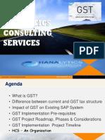 GST - HCS Pvt Limited - Feb 2017