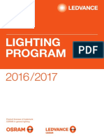 Ledvance Lighting Program Osram 2016-17