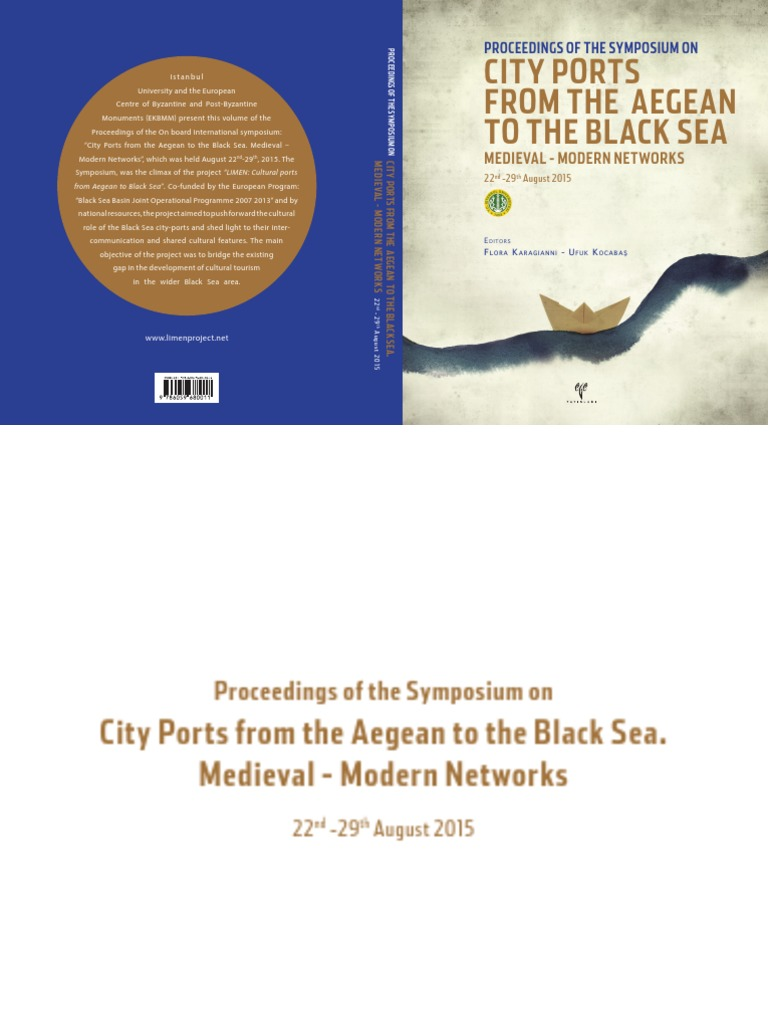 City ports from the aegean to the black sea medieval modern networks black sea turkey