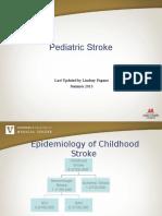 Pediatric Stroke