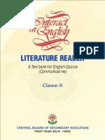 Literature Reader Class X