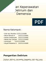 Askep Delirium Dan Demensia