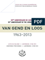 s3. Hot. Van Gend en Loos - Anivers. 50 Ani Conference Proceedings