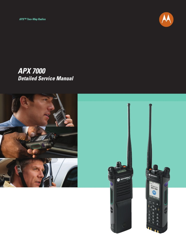 APX7000 Detailed SM | Very High Frequency | Copyright
