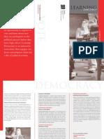 Learning Democracy Brochure