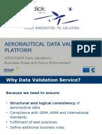 Aeronautical Data Validation Platform by m-click.aero GmbH