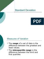 12.4 - Standard Deviation