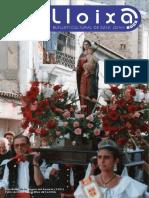 LLOIXA. Número 165, estiu/verano 2013. Butlletí informatiu de Sant Joan. Boletín informativo de Sant Joan