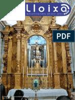LLOIXA. Número 171, març/marzo 2014. Butlletí informatiu de Sant Joan. Boletín informativo de Sant Joan