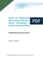 Guide Déploiements FTTH