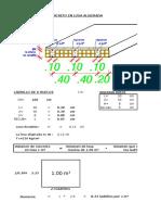 (4) Cuantificacion Del Concreto en Losa Aligerada 13 Cm