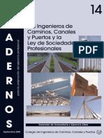 C14. Los Ingenieros de Caminos, Canales y Puertos y la Ley de Sociedades Profesionales