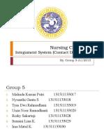 Nursing Care Plan of Integument System