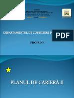 Plan de Cariera II