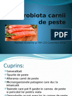 Microbiota Carnii de Peste
