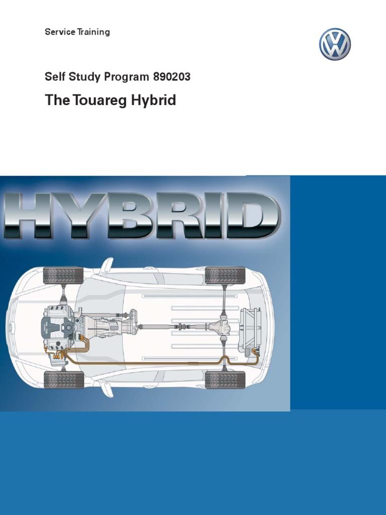 890203 the Touareg Hybrid | Hybrid Vehicle | Transmission